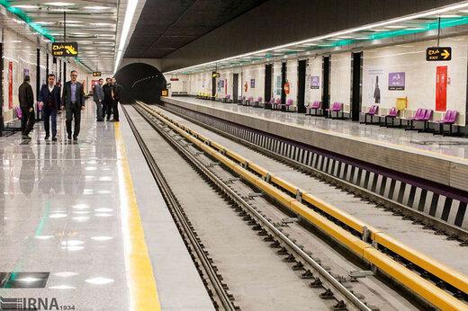 مترو تهران  |  مرگ سه کارگر در ایستگاه متروی توحید