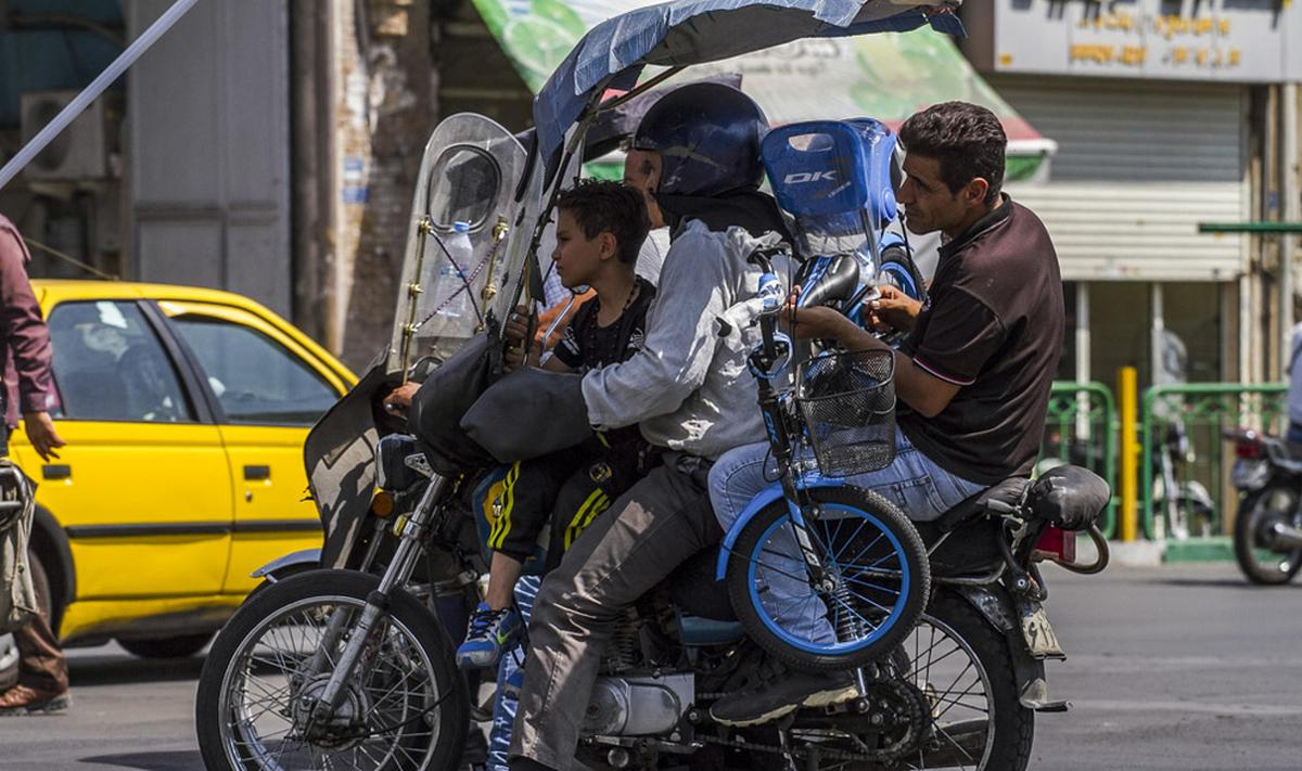 موتورسیکلتها چگونه هوای تهران را آلوده کردهاند؟
