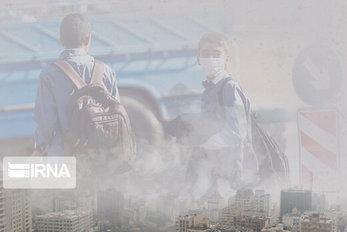 آلودگی هوای تهران کوه دماوند را هم بلعید