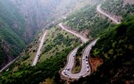 ترافیک در مبادی ورودی به مازندران پرحجم و سنگین است