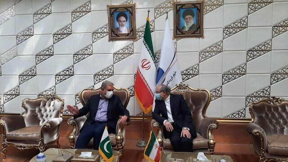 شاه محمود قریشی وارد تهران شد