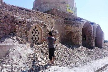 توضیح میراث فرهنگی درباره تخریب آرامگاه یعقوب لیث