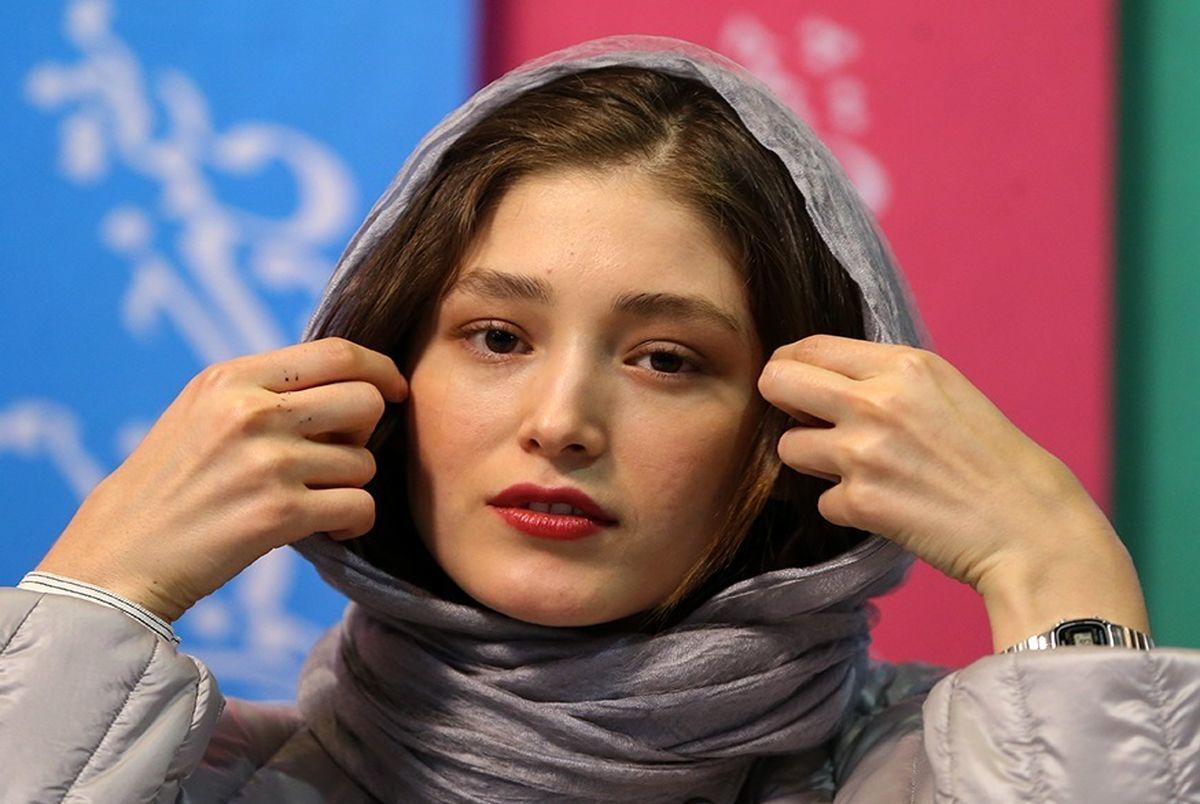 عکسی جالب از فرشته حسینی