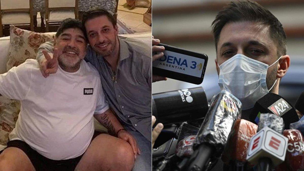 حبس 25 ساله در انتظار پزشک شخصی مارادونا