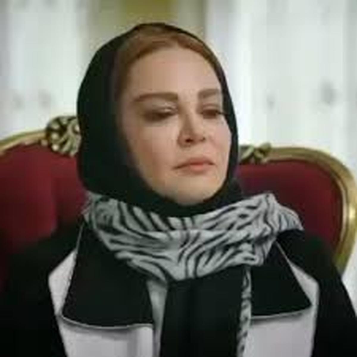 بازیگر مشهور تلوزیون وسینما  عزادار شد + عکس