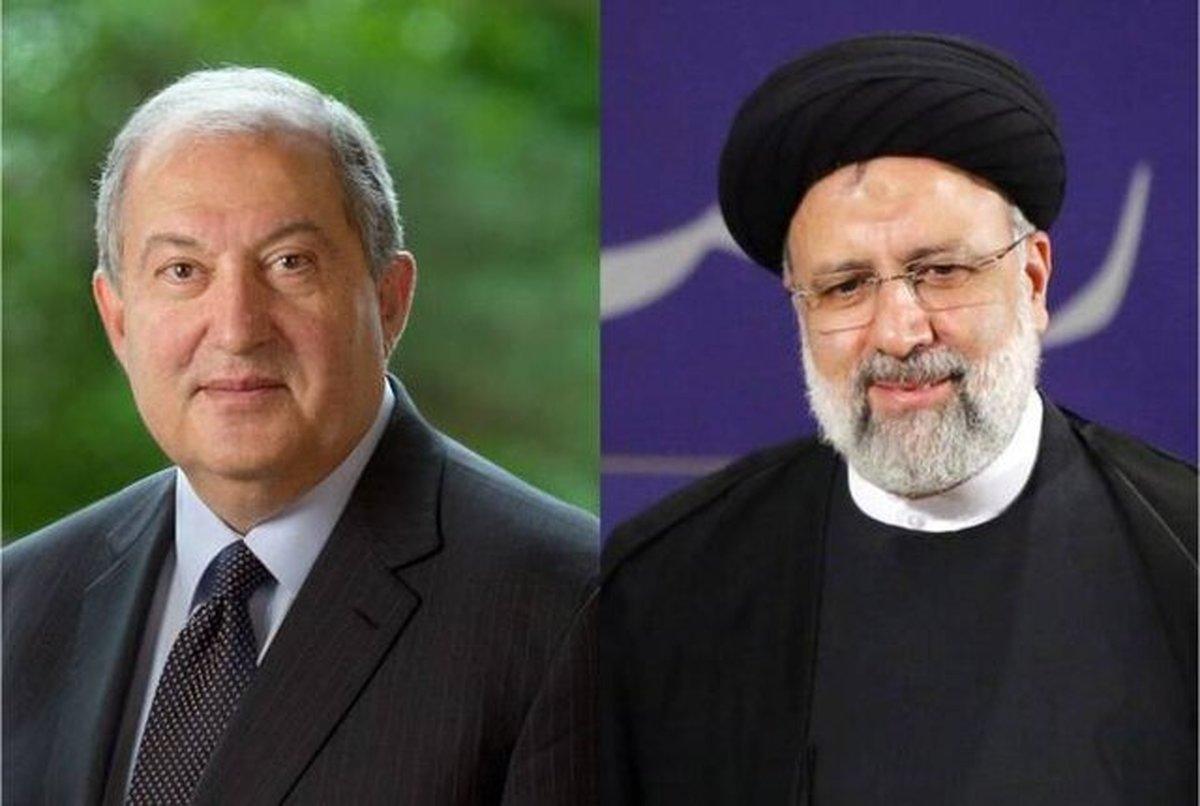 رئیس جمهور ارمنستان  پیام تبریک به رئیسی فرستاد