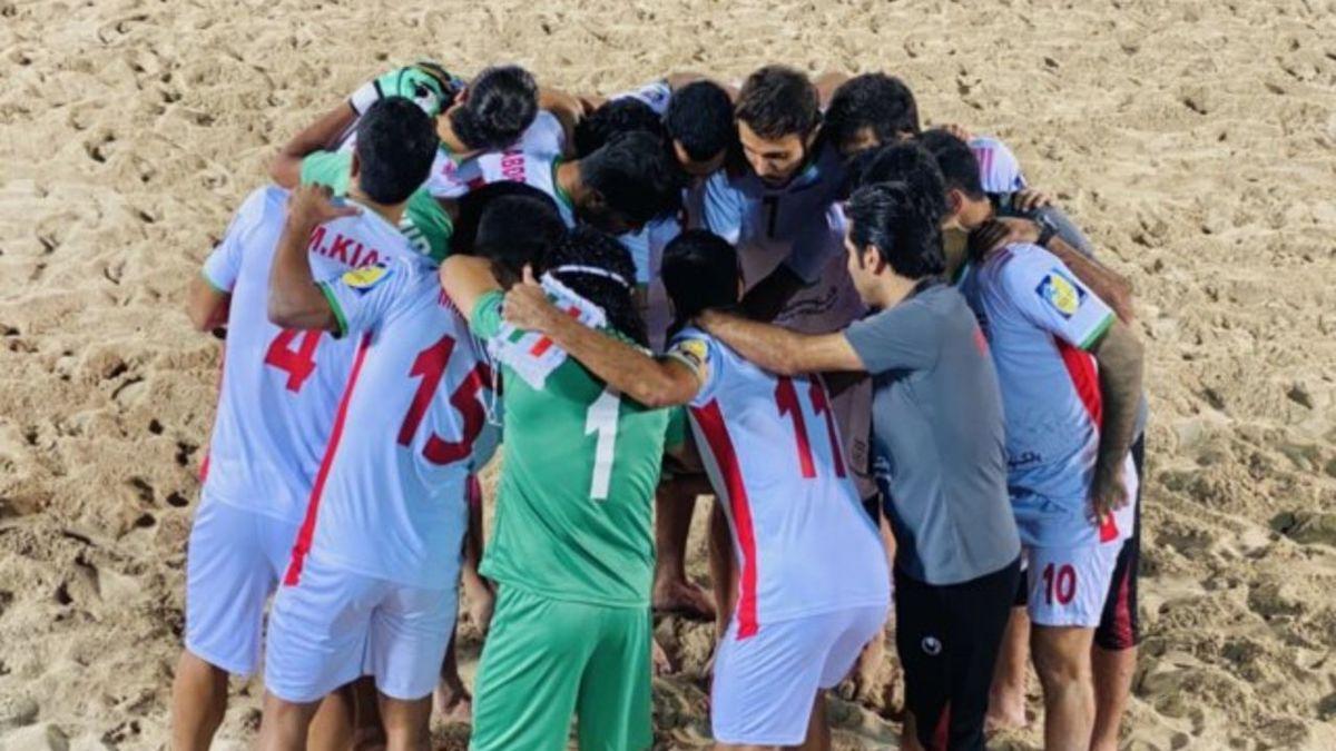 تیم ملی فوتبال ساحلی ایران رسما از جام جهانی روسیه حذف شد