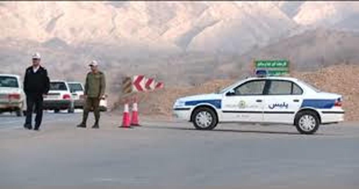 پلیس راه تهران  |   کنترل تردد خودروها در آزادراه تهران-شمال