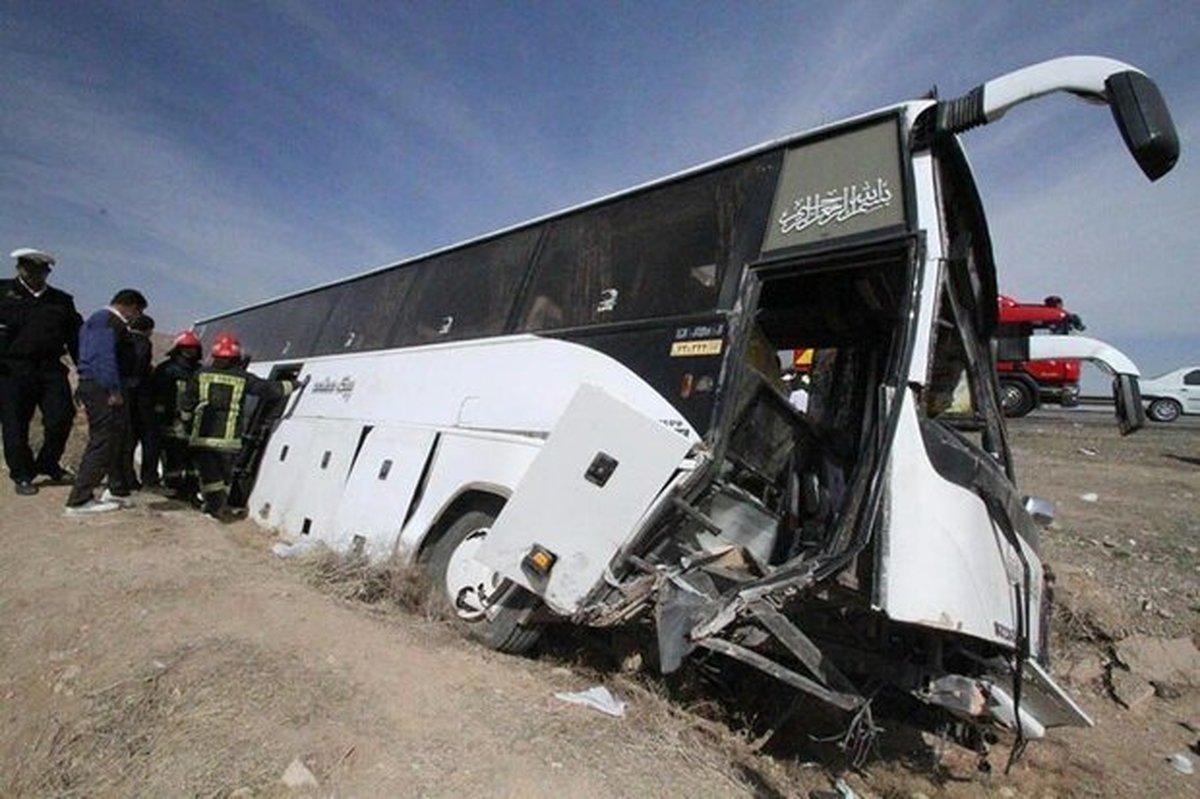 جان باختن ۲ خبرنگار بر اثر واژگونی اتوبوس