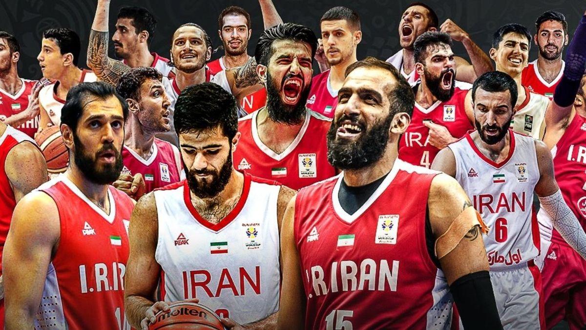تیم ملی بسکتبال  ایران با دردسر مواجه شد