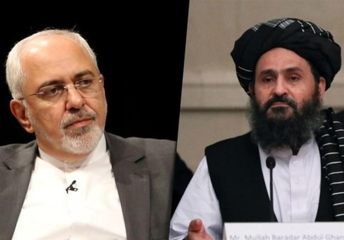 ظریف در دیدار با هیئت طالبان  |   از یک دولت فراگیر با حضور همه طرفها حمایت میکنیم