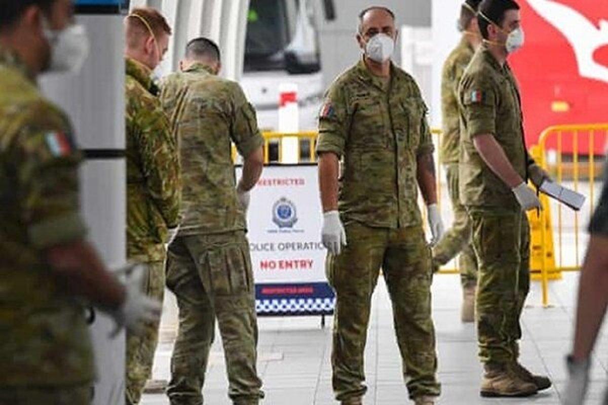 استرالیا برای مهار کرونا دست به دامن ارتش شد