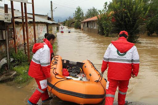 امدادرسانی به بیش از ۹۰۰۰ تن در ۱۹ استان سیلزده طی ۳ روز