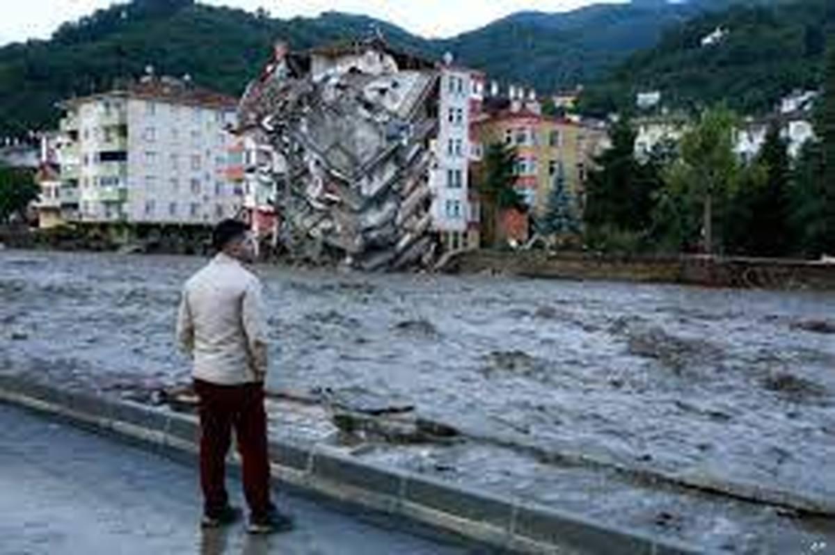 تعداد کشتهشدگان سیل در ترکیه به 70 نفر رسید