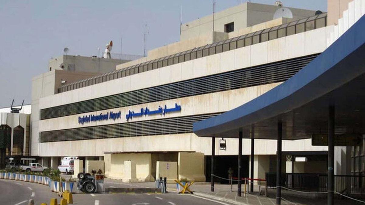 فرودگاه بغداد | موشک از محله الفرات شلیک شد