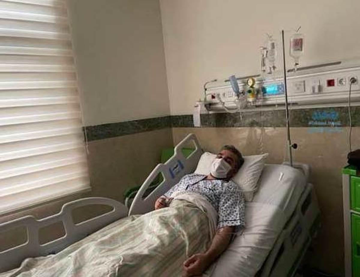علی رضوانی کرونا گرفت  علی رضوانی به علت کرونا در بیمارستان بستری شد