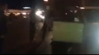 لحظه دستگیری مهدی گاوزن از ارازل مازندران در اتوبان قم + ویدئو