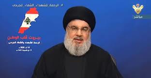 سید حسن نصرالله  |   حزب الله انبار مهماتی در بندر بیروت نداشته و ندارد