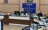 تصویری از حضور فرماندهان نظامی کشور با ماسک در جلسه