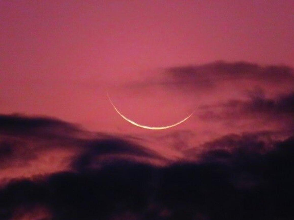 شرایط سخت در رؤیت هلال ماه شوال ۱۴۴۲ در شامگاه امشب
