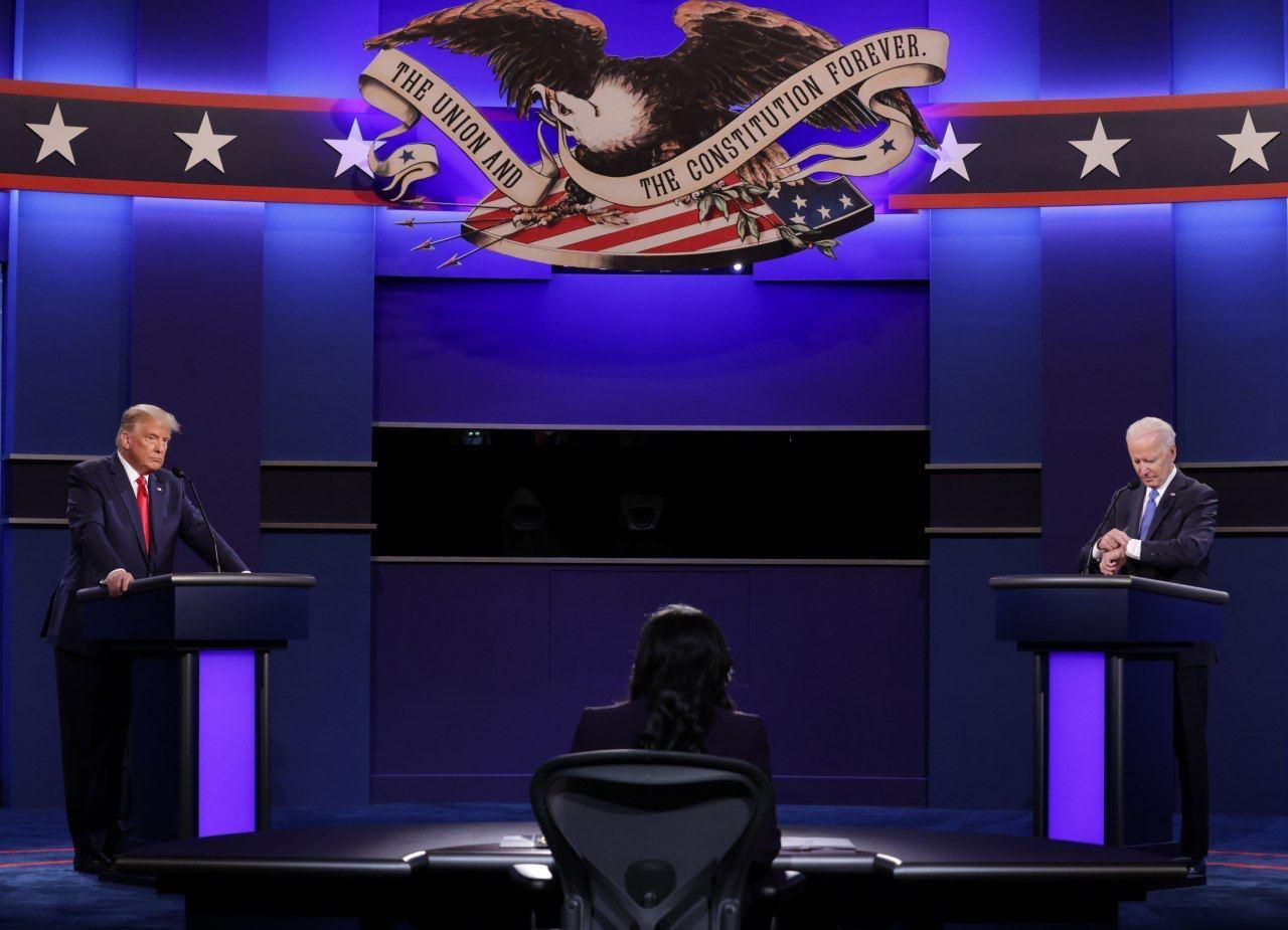 چکیده مناظره انتخاباتی امروز صبح بایدن و ترامپ  با زیرنویس + ویدئو