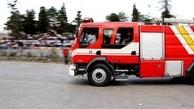 آتش سوزی در انبار ١٠٠٠ متری در جاده مخصوص کرج