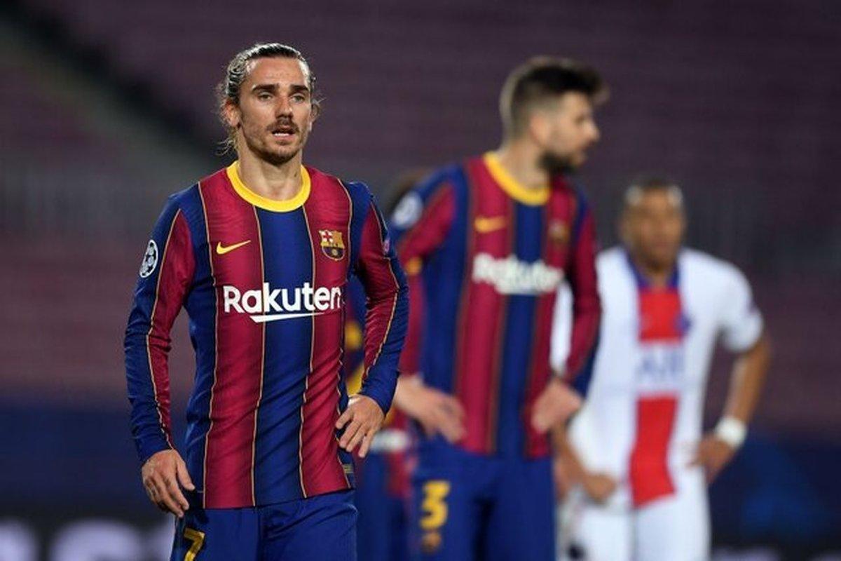پیروزی بارسلونا با درخشش گریزمان