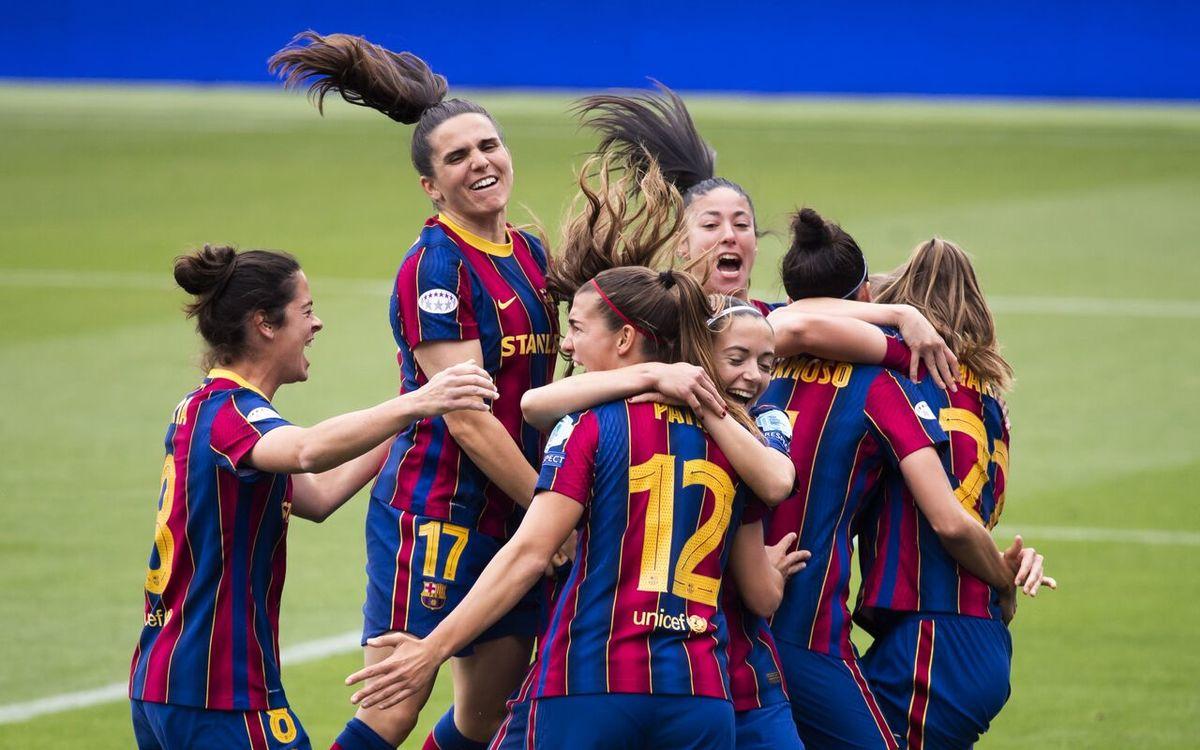 دختران باشگاه بارسا جور مسی و دوستان را کشیدند