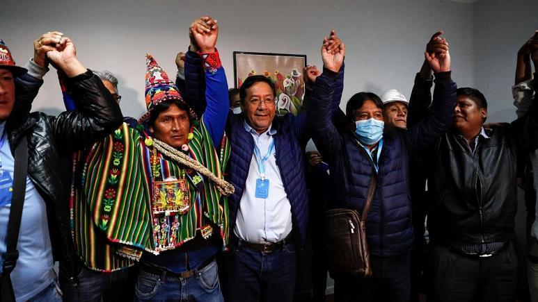 انتخابات |  رئیسجمهور سابق بولیوی در انتخابات ریاستجمهوری پیروز شد.