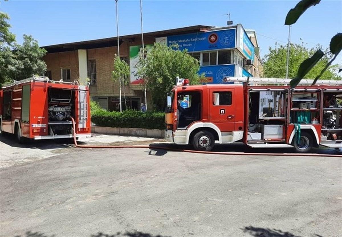 خانه کشتی شهید صدرزاده به علت فرسوده بودن دچار آتش سوزی شد.