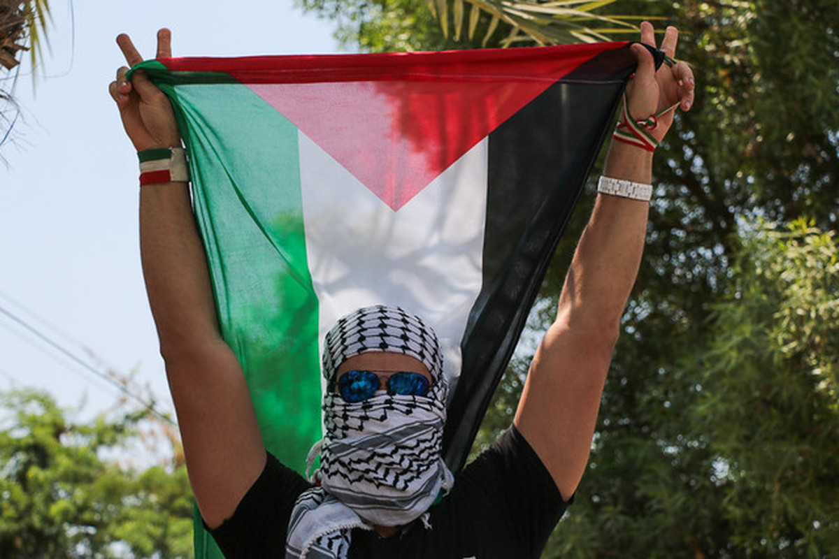 روز قدس نمایش اتحاد و همبستگی ملت های آزادیخواه جهان تا حذف اسراییل در منطقه است