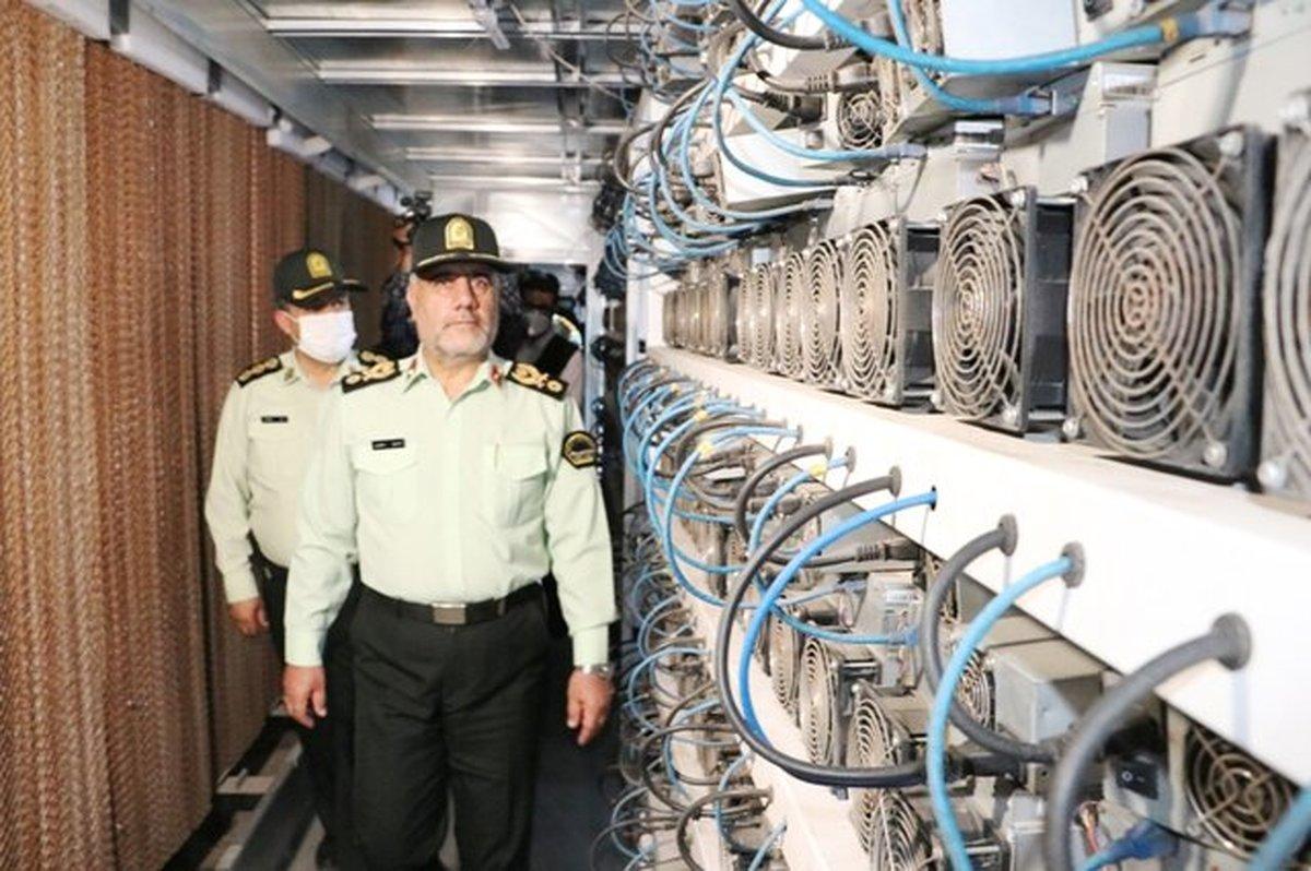 طرح ویژه پلیس برای مقابله با استخراج رمز ارز |  شناسایی ۷۰ مزرعه بیتکوین در تهران