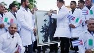 پزشکان کوبایی فرشته نجات مبارزه با کرونا