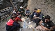 پایان عملیات ریزش معدن منگنز قم   |  کارگر محبوس شده در معدن فوت کرد