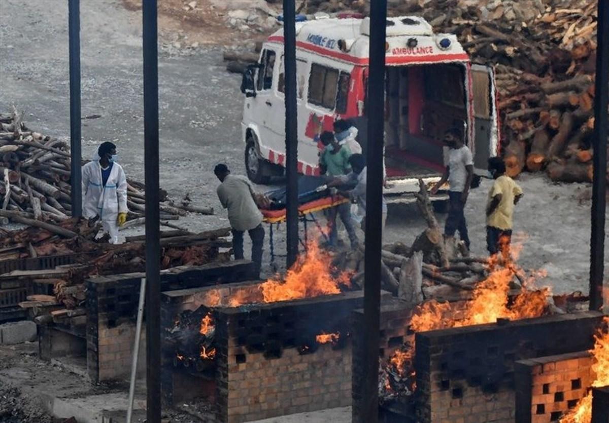 ثبت بالاترین رکورد تلفات روزانه کرونا در هند