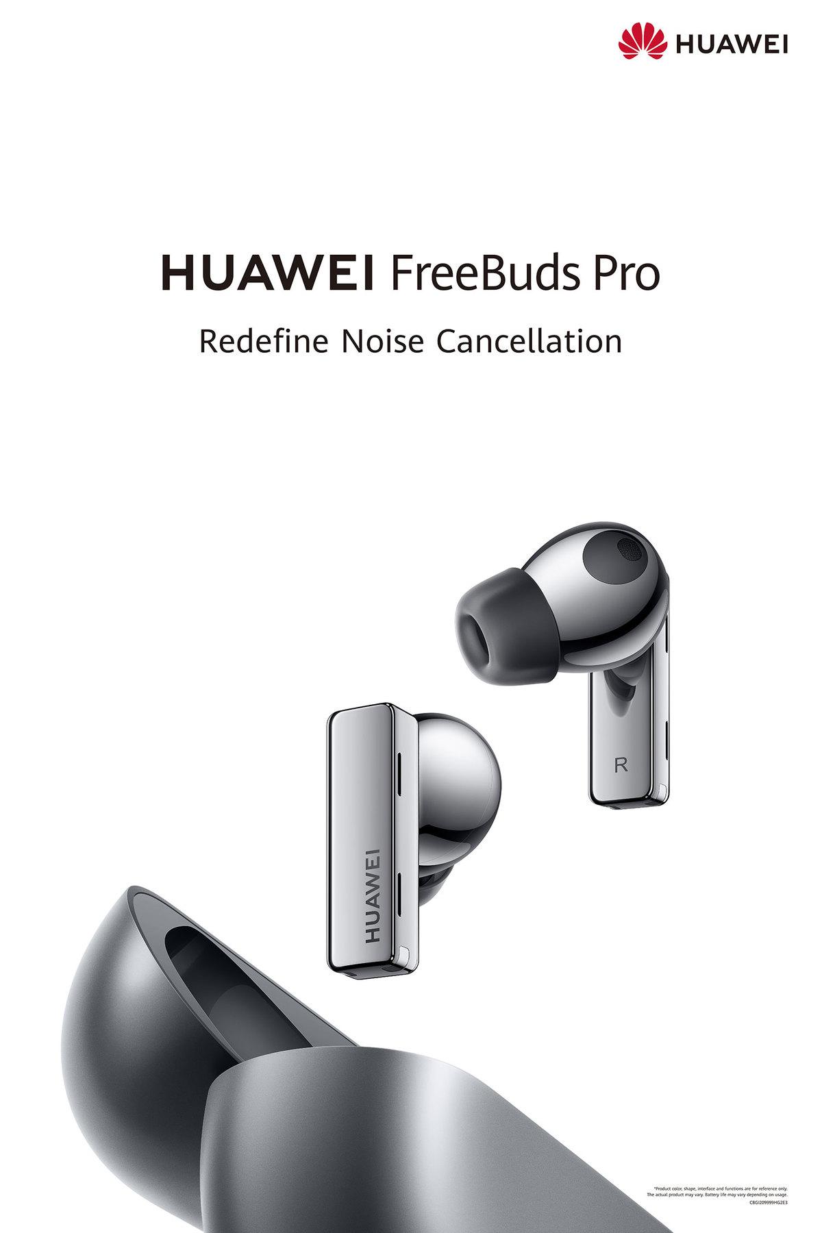 هندزفری بیسیم هوآوی FreeBuds Pro؛ طراحی خاص و کیفیت بالا صدا در یک قاب