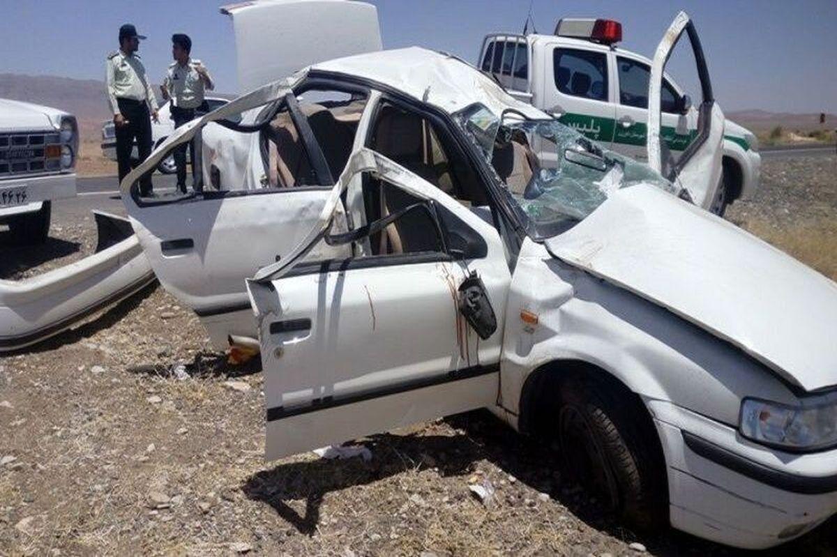 حادثه  |   برخورد ۲ دستگاه سواری در قزوین سه نفر را به کام مرگ کشاند