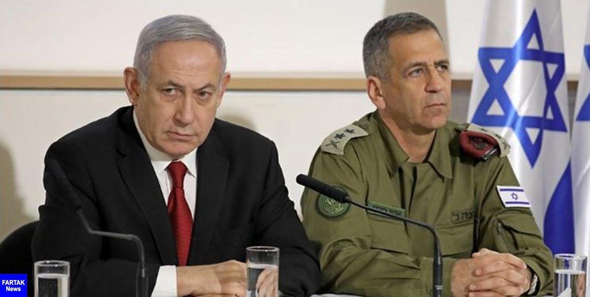 جلسه  | نتانیاهو و گانتس ناگهان نشست کابینه راترک کردند