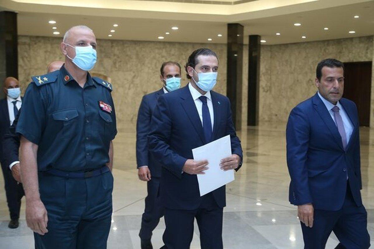 حریری از تشکیل کابینه لبنان انصراف داد