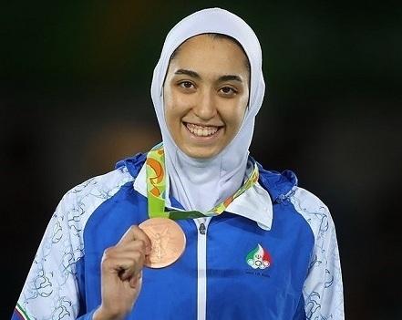 کیمیا علیزاده در تیم پناهندگان المپیک شرکت می کند| تمرینات کیمیا علیزاده برای المپیک توکیو