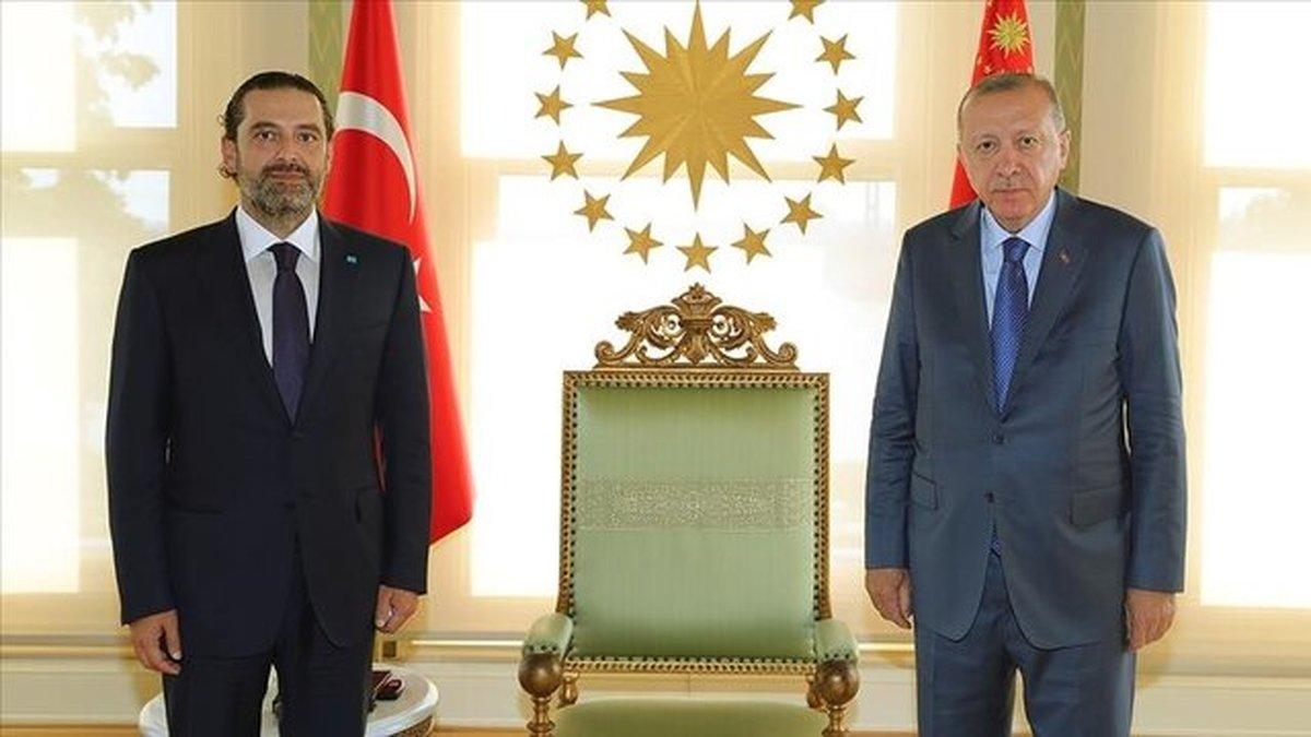 دیدار اردوغان و سعد حریری در استانبول