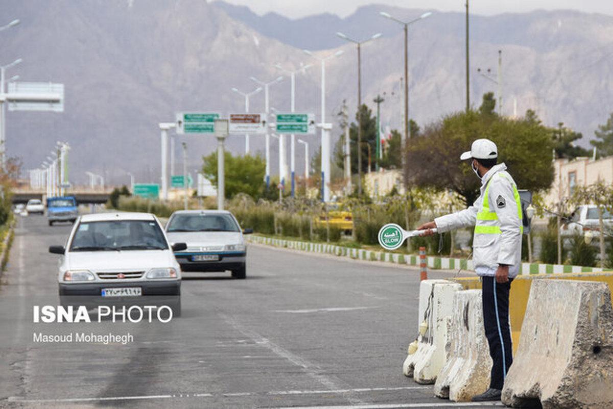 پلیس راه خراسان رضوی  |   ورود به مشهد اکیدا ممنوع است