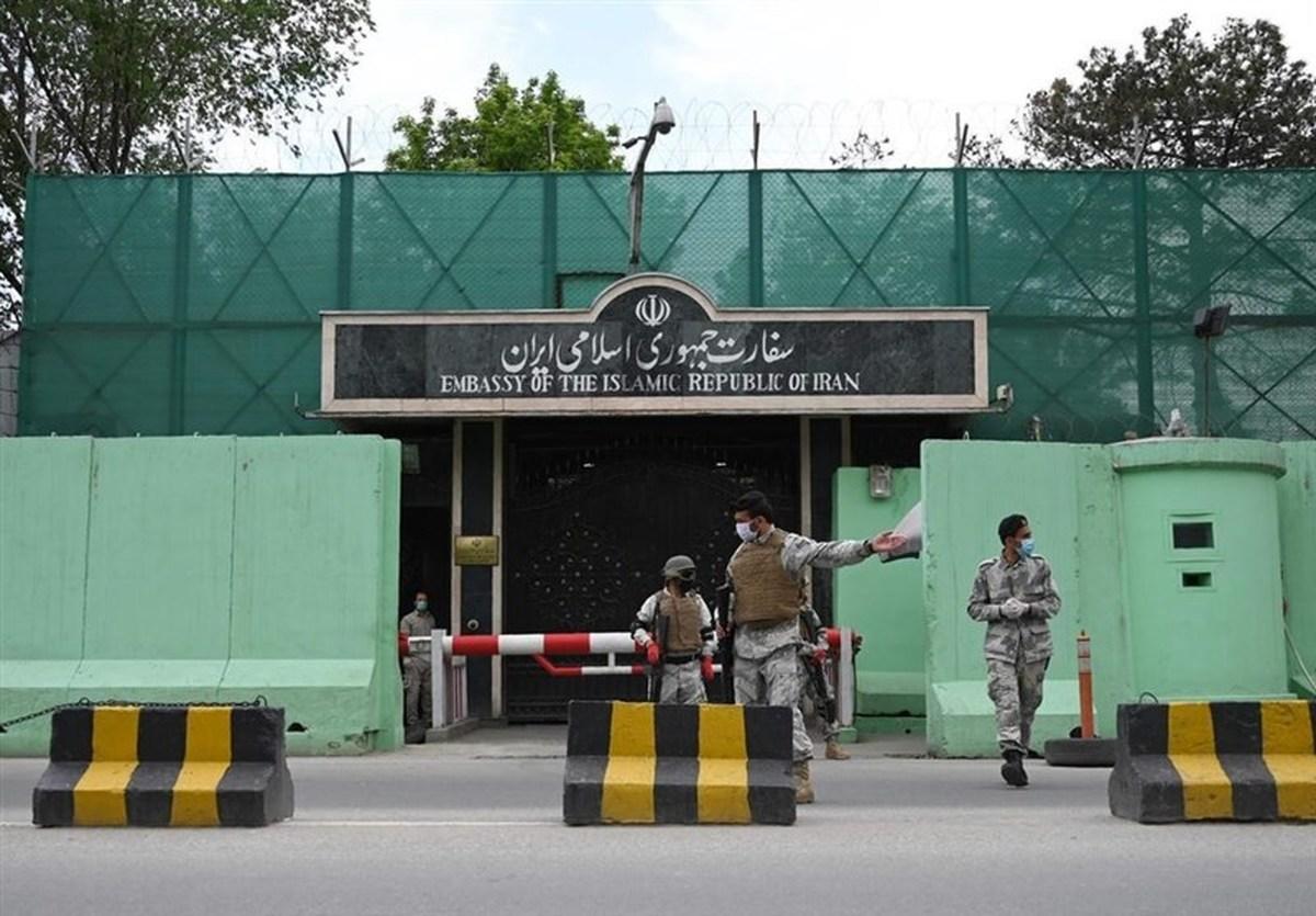 تیراندازی  به سفارت ایران در کابل
