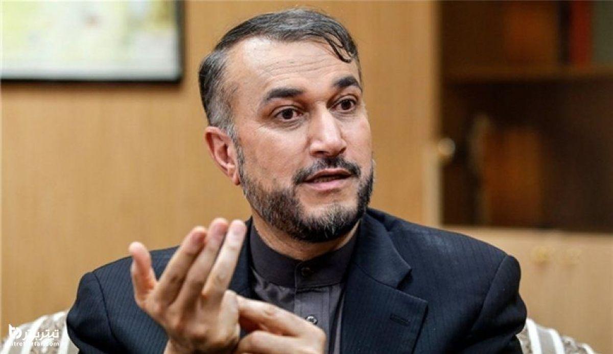 امیرعبداللهیان: با مذاکره ای همراه می شویم که  تامین کننده حقوق و منافع ملت ایران باشد