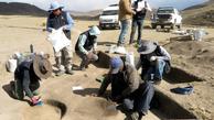 شکارچی زن  |  بقایای ۹هزارساله یک شکارچی زن در کشور «پرو»کشف شد .
