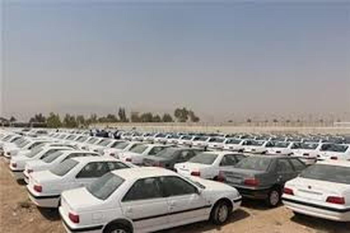 یک انبار دیگر احتکار خودرو در غرب تهران کشف شذ