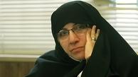 زهرا شجاعی وارد ستاد انتخابات شد