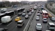 میزان ترددها در کل کشور |  افزایش۶۷ درصدی تردد جادهای نوروز امسال
