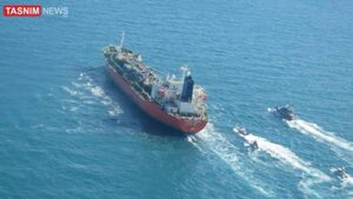 توقیف کشتی کرهجنوبی توسط سپاه در خلیج فارس