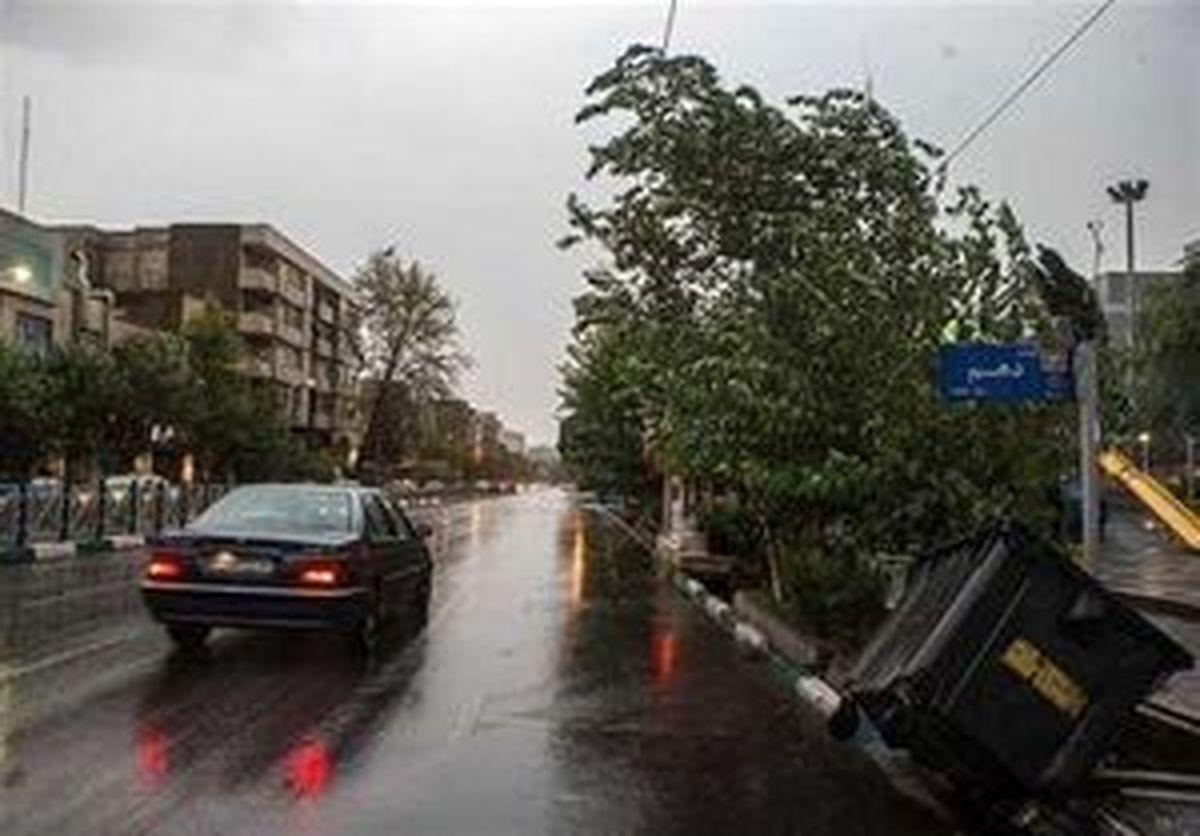 پیشبینی وزش باد شدید امروز در تهران
